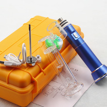 2018 trending products dry herb wax pen g9 henail electronic cigarette vapor with portable yellow box