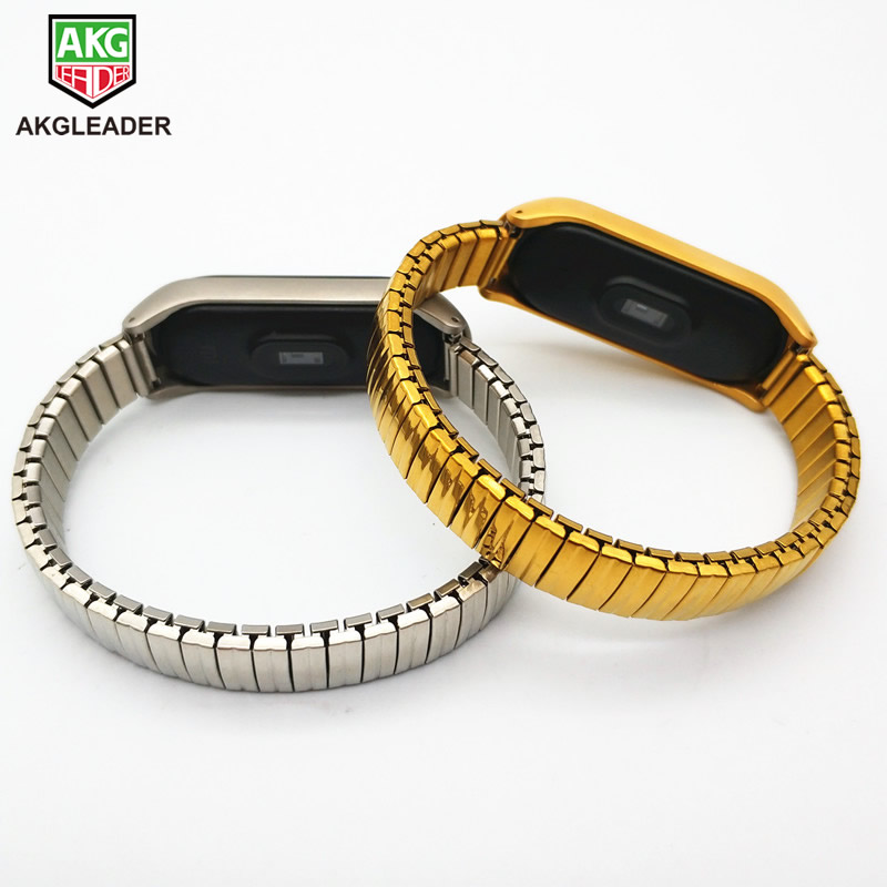 Milanese Loop Mi Band 3 Wrist Strap For Xiaomi Mi Band 3 Miband Metal Bands Bracelet Smart Watch Straps Stainless Steel Belt