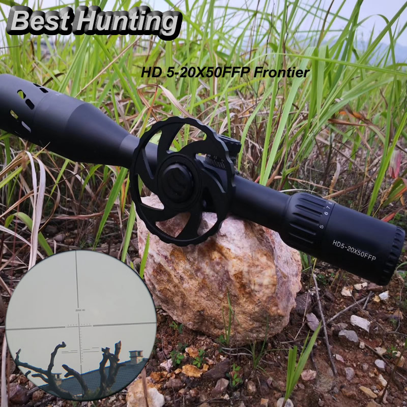 Carl Zeiss Hunting HD5-20x50FFP Riflescope New Reticle with Big Handwheel Optic Sight for Outdoor Hunting