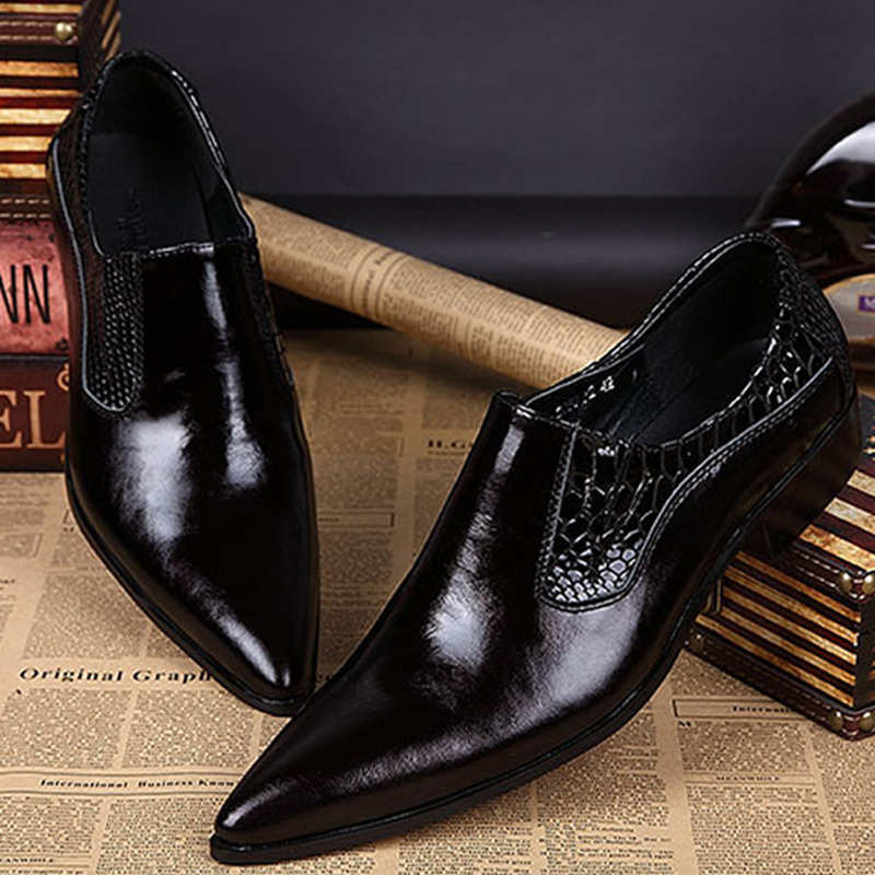 men wedding shoes mode italia designer formal mens sepatu asli sepatu kulit 5784