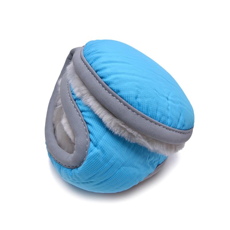 Fashion New Unisex Women Men Collapsible Earmuff Winter Ear Muff Wrap Band Warmer Grip Earmuffs With Reflective Stripe