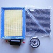 Für MG 350 luftfilter/kabine klimaanlage filter/kraftstoff/ölfilter vier filter qualität Roewe 350