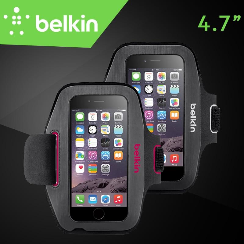 """imágenes para Belkin Original Sport-Fit Jogging Brazalete Del GIMNASIO Bolsa de Mano-lavable Caso para el iphone 6/6 s 4.7 """"con el Envío Libre Del Empaquetado F8W619"""