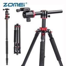 ZOMEI M8 Camera Tripod Monopod with Rotatable Center Column 360 Ball Head Panoramic Shooting for Nikon Canon DSLR Cameras Video