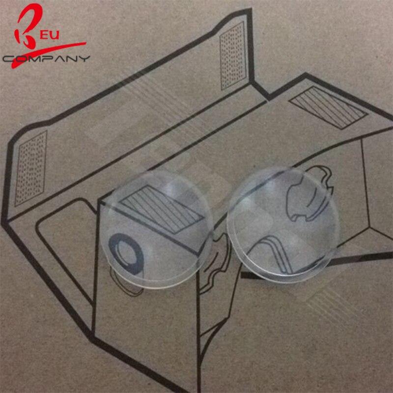 google papelão vr lentes lente