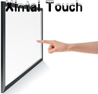 USB 2 Points IR Touch Screen Frame 46 Inch Infrared Multi Touch Screen Overlay For Windows