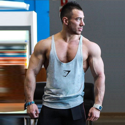 High Quality Gym Singlets Mens   Tank     Tops   Stringer Custom Made Bodybuilding and Fitness Sport Clothes
