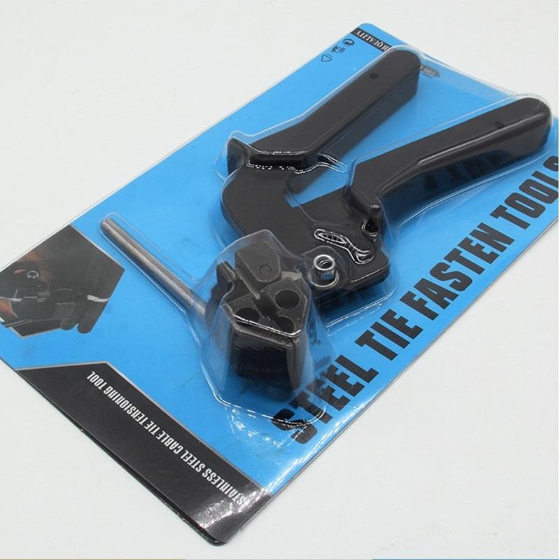 Edelstahl Clamp Werkzeuge Verwendet Für Selbst Locking Kabelbinder Befestigungs Und Schneiden Werkzeug Sonder Weich Und Leicht Verantwortlich Lsd-600r Kabel Tie Gun
