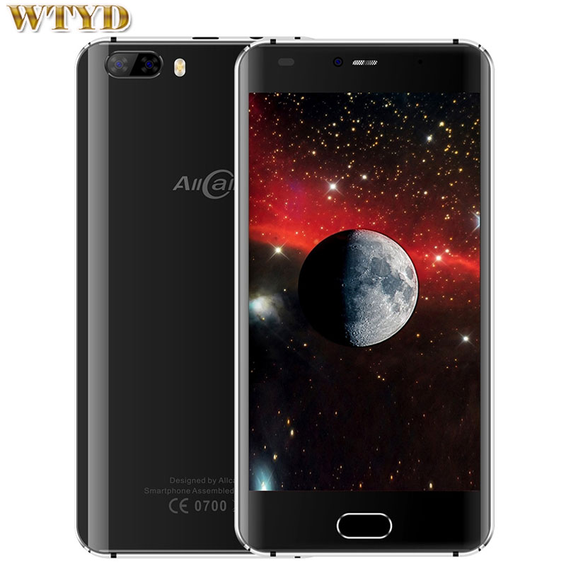 AllCall Rio 1GB+16GB Dual Back Cameras Dual Curved Edge 5.0 inch 3D Curved Android 7.0 MTK6580A Quad Core up to 1.3GHz 3G OTG