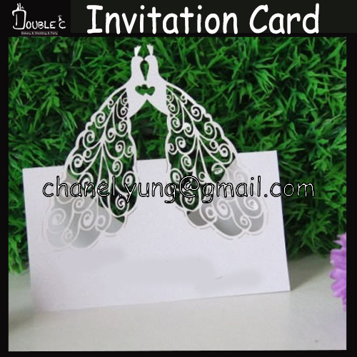 Online Get Cheap Peacock Wedding Invitations Aliexpress