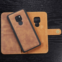 Retro Leather Case for Huawei P20 Pro P30 Lite Mate20 Mate 20 30 Pro P smart 2019 Card Slot Wallet Cover Magnetic Back Shell
