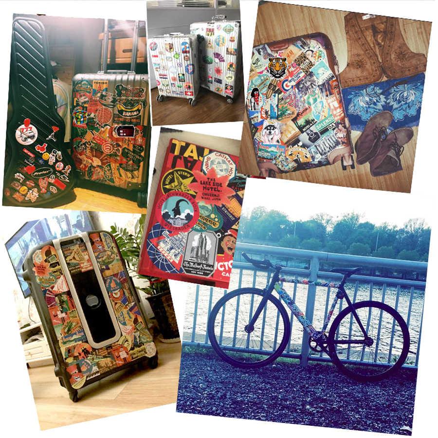 Pegatinas de pared para decoración para refrigerador del hogar Decoración de Anime Punk de cocina para decoración de sala de estar pegatinas de mezcla de moda 50 Uds