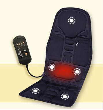 Multifunction hip back massage cushion for leaning on of on-board household massager cushion car seat 24-220 - v 220 v 110 v 24 v car seat cushion heating car cushion vehicle home massage cushion and massage cushion body massager