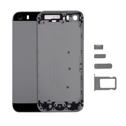 Top Quality New Housing Back Battery Cover Middle Frame Metal Back Housing For iPhone 5 5s free shipping