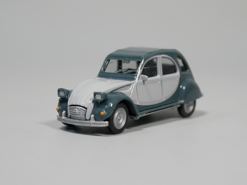 ho scale model herpa 1 87 citroen 2 cv model car