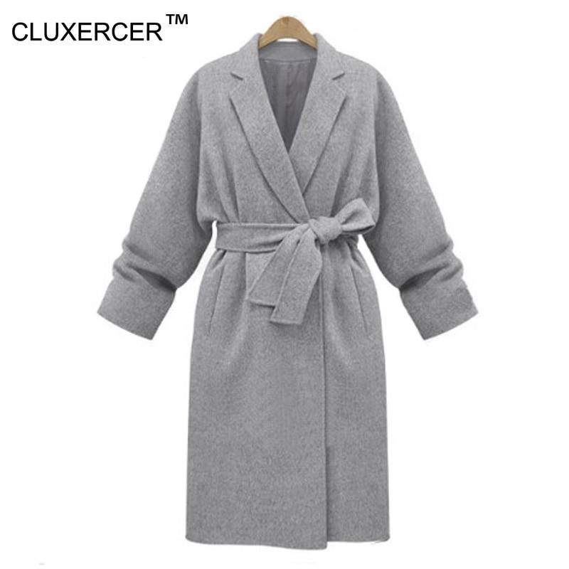 Online Get Cheap Ladies Grey Woolen Coat -Aliexpress.com | Alibaba