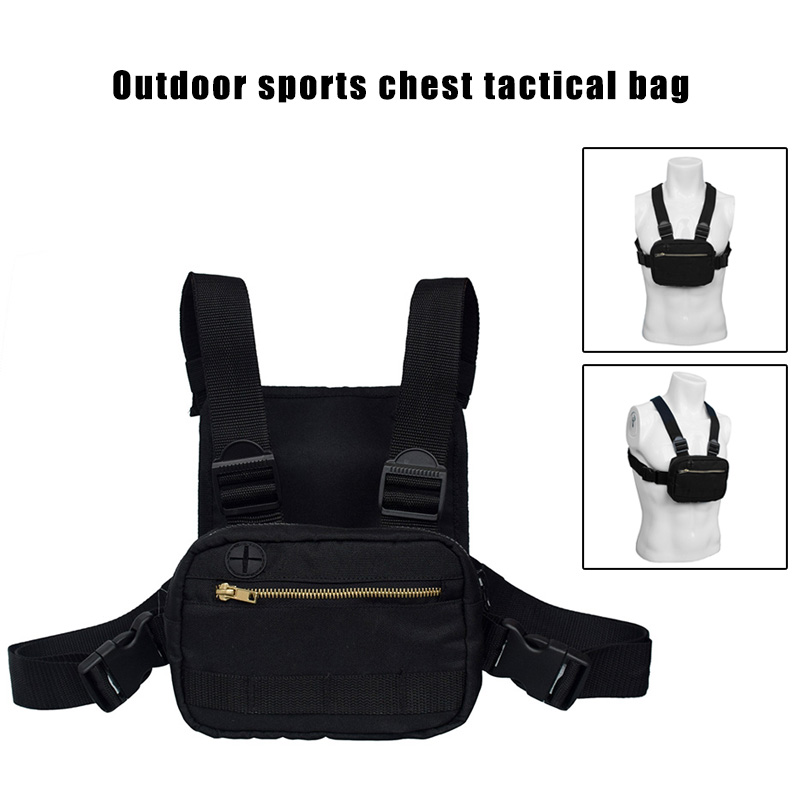 Men Women Chest Bag Multifunctional Wear resistant Durable Chest Rig Bag for Outdoor FC55 in Backpacks from Luggage Bags