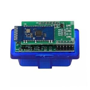 Image 5 - 50 יח\חבילה 2PCB V1.5 הקושחה ELM327 Bluetooth OBD2 קוד קורא עובד אנדרואיד ELM 327 אבחון סורק משלוח חינם