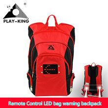 22L remote control LED safety outdoor lights backpack LED shoot the light mountain night bike riding bicycle man women 2017 new