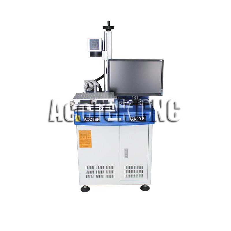 Machine de marquage laser en métal de CNC de configuration Standard 20 W