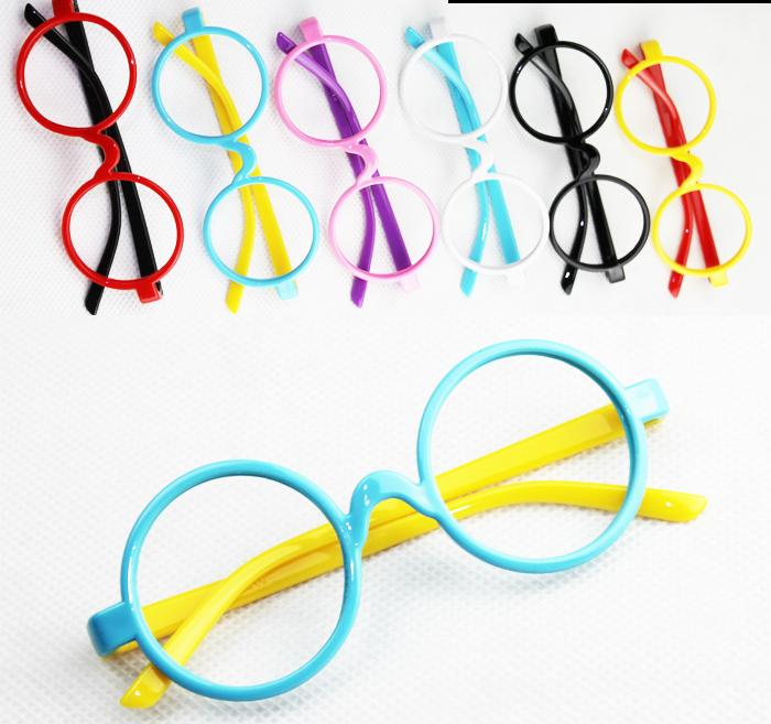 ff474c09782 New fashion 2015 round glasses frames Children boys girls spectacle frames  cute eyeglasses frame kids glasses mix colors