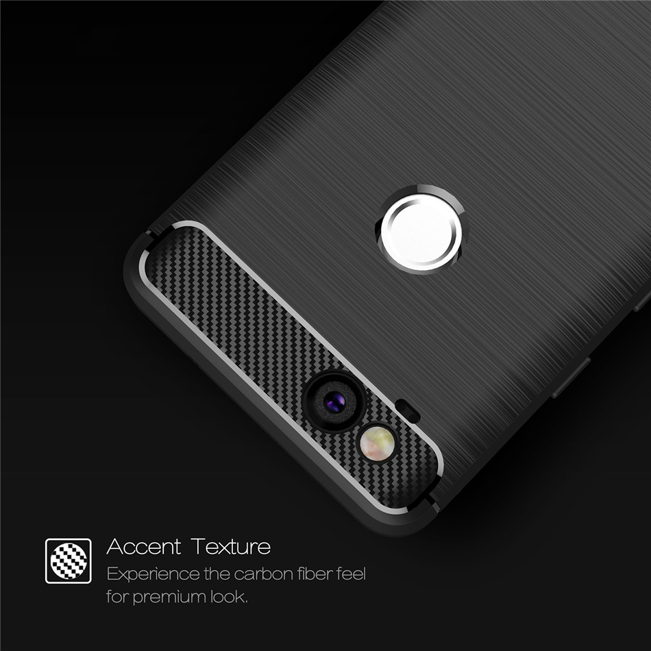 For Google Pixel 1 2 XL Rugged Armor Shockproof Case Slim Brushed Line Carbon Fiber Textured Silicone TPU Cover Capa