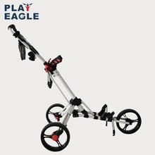 Playeagle 3 тележка для гольфа на колесиках Складная дизайнерская сумка-переноска