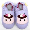 Мягкой подошвой кожа детская обувь девушки мокасины девушка новорожденный младенец первый уокер малыша дети обувь тапочки мальчик