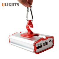 Portable Hanging SMD LED Tent Light Lamp Outdoor Hiking Camping Lantern Flashlight USB Powerbank For Moibile