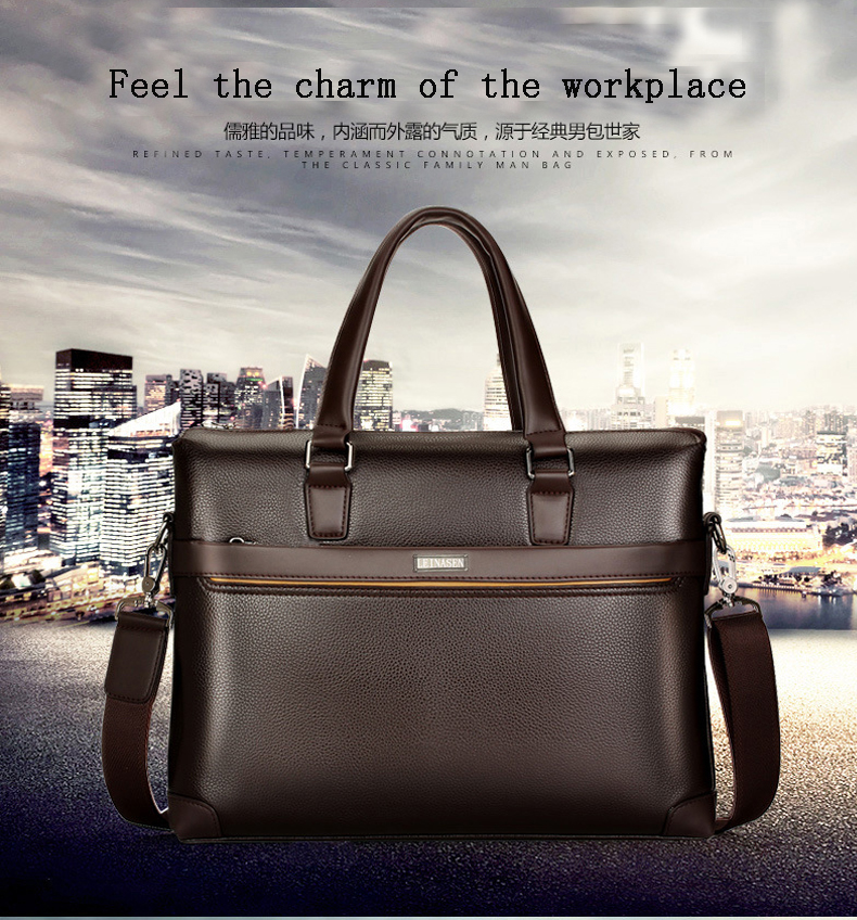 HTB10.XPdlWD3KVjSZKPq6yp7FXah bolso hombre maleta lawyer sac luxe sacoche homme leather briefcase messenger lo mas vendido business office laptop bags for men