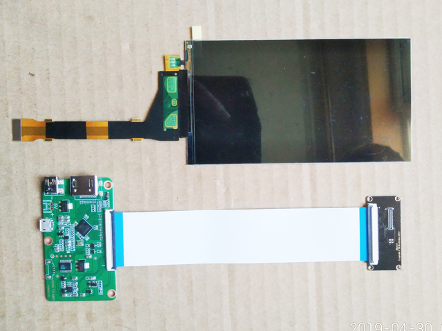 5.5 6 pollici 2K HDMI IPS LCD Kit 1440*2560 LS055R1SX04 LSMIPI A HDMI kit di Visualizzazione Per 3D stampante Proiettore FAI DA TE Secondo Display