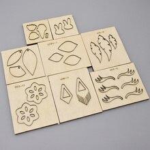 Dies Cutter Steel-Blade Wood Die-Punch Crafts-Accessories New for Diy Mold Eardrop Rule-Cut