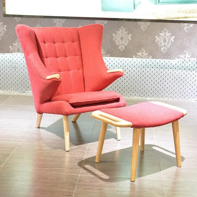 US $431.8 15% OFF|2 stücke stuhl + ottoma für verkauf moderne lesiure  sessel für schlafzimmer in 2 stücke stuhl + ottoma für verkauf moderne ...