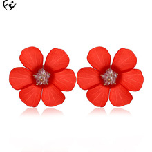 European and American tide Female Flower Earrings FY18050702