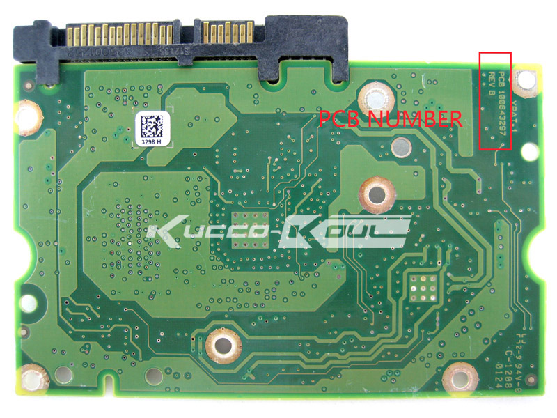 hard drive parts PCB logic board printed circuit board 100643297 for Seagate 3.5 SATA hdd data recovery hard drive repair