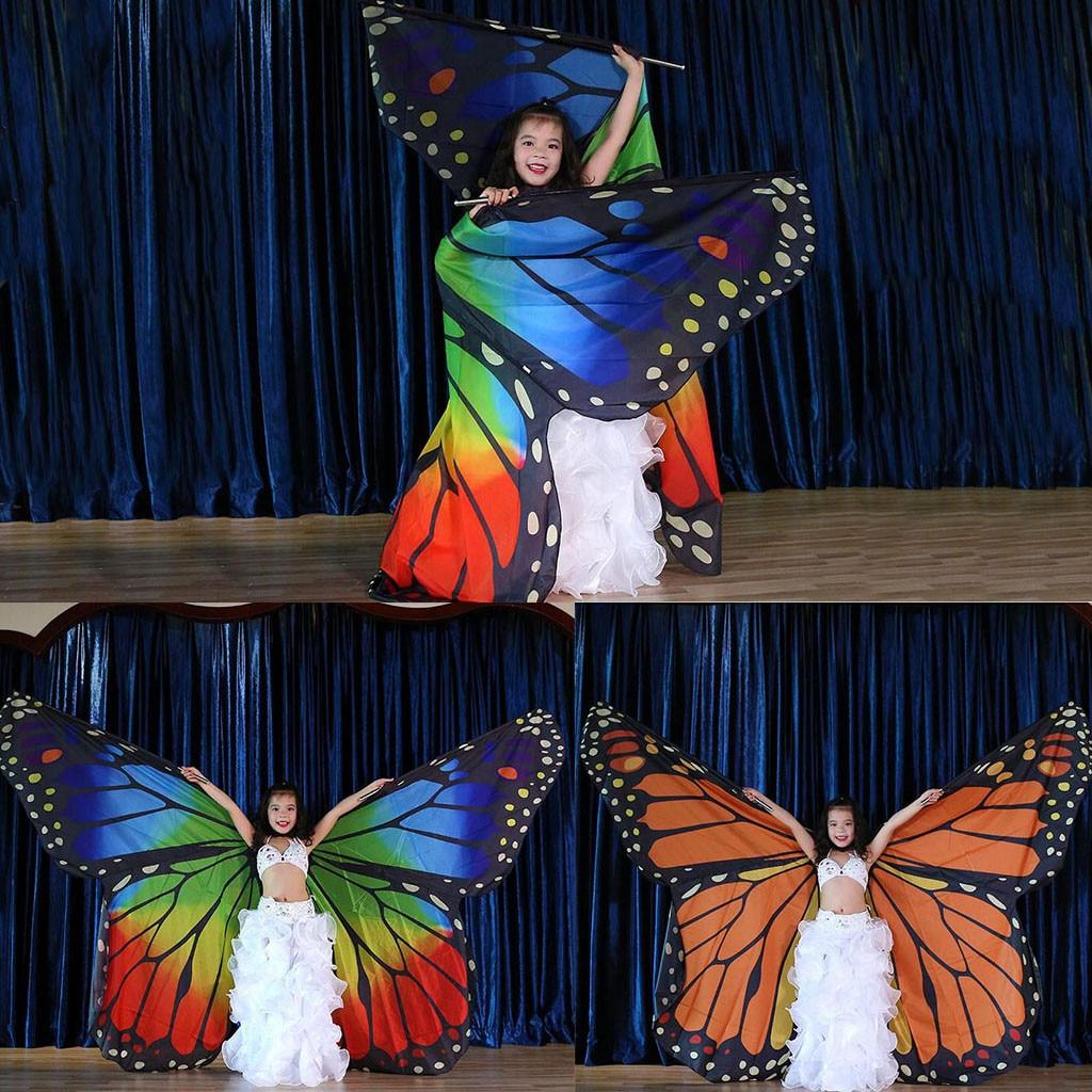 2019 LED Isis Wings Belly Dance Costume Fairy wings Cosplay Angel Isis Wings
