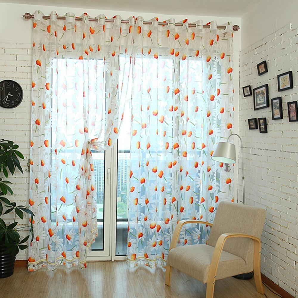 Compare prices on flower curtain  online shopping/buy low price ...