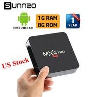 MXQ Pro Smart Android 7 1 TV BOX Loaded Kodi 17 4 Set Top Box 1GB