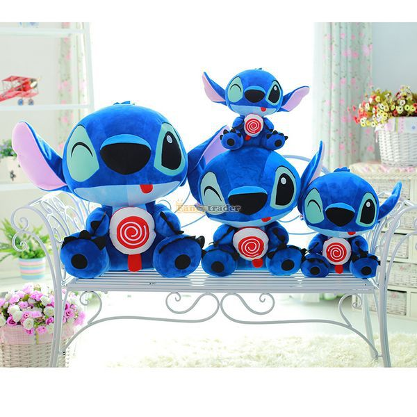 Fancytrader 26'' / 65cm Giant Stuffed Soft Plush Lovely Big Funny Stitch Toy, Cute Gift For Kids, Free Shipping FT50691 - 6
