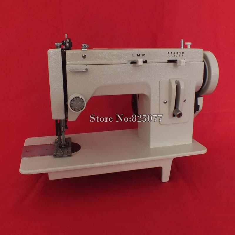 Leather sewing machine,fell clothes thicken sewing machine.Thick material sewing machine reverse stich ZIG ZAG function KF578 cb3200 harness leather heavy leather sewing machine for saddle and harness tote bag and shoes special sewing machine 220v 50hz