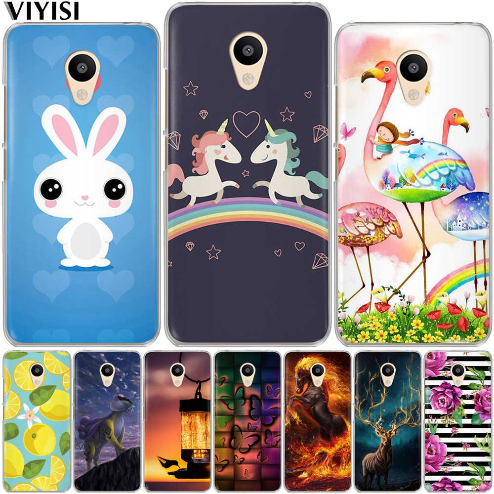 VIYISI para meizu M3 M3s M5 M5s M5c Mini nota Pro 6 TPU suave genial de dibujos animados lindo teléfono caso meizu U10 U20 carcasa de la contraportada