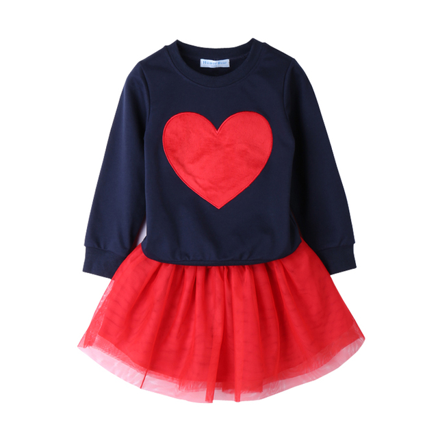 Shirt and Skirt Set for Girls with Various Cute Designs