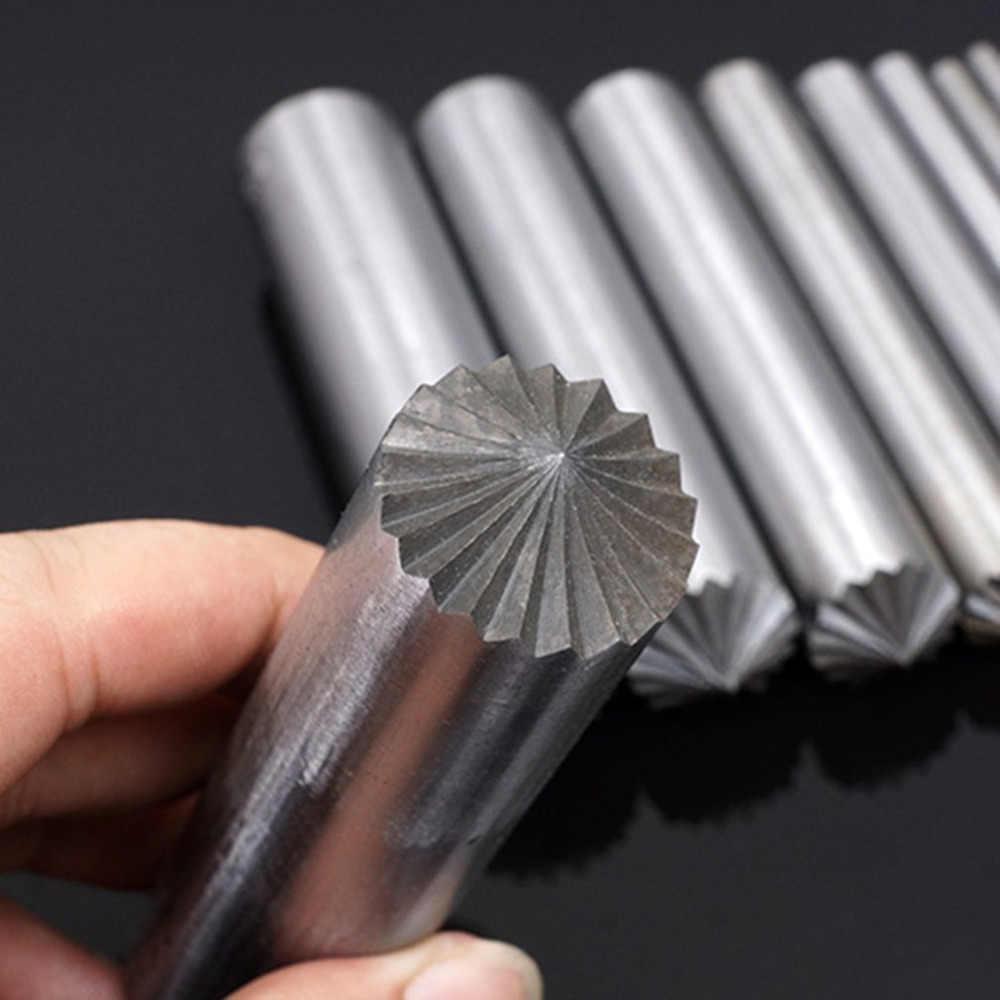 Сверло для цветения, металлический винт, инструмент для установки, кожаное отверстие, кожаное ремесло, инструмент для пробивания, 3-15 мм