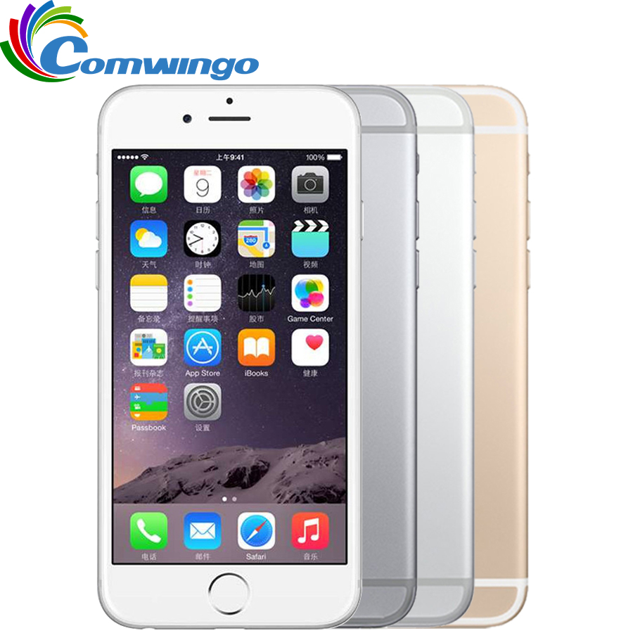 Original Unlocked Apple iPhone 6 Plus Cell Phones 1GB RAM 16/64/128GB ROM 5.5'IPS GSM WCDMA LTE iPhone6 plus Used Mobile Phone image