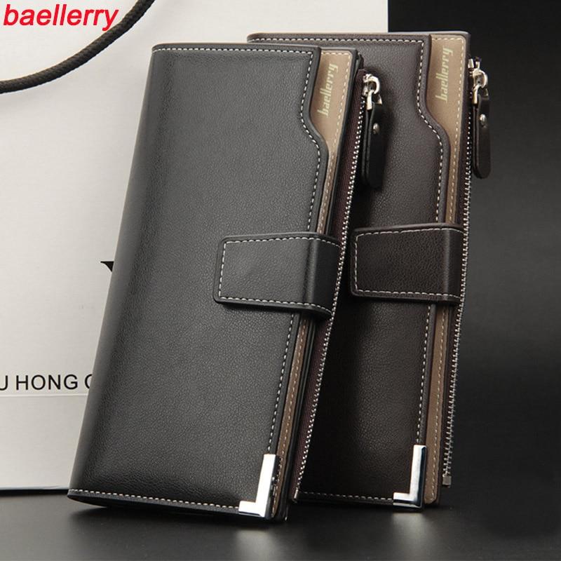 2016 Men S Baellery Business Clutch Wallets Famous Brand Male Purse Luxury Cards Money Holder Bag