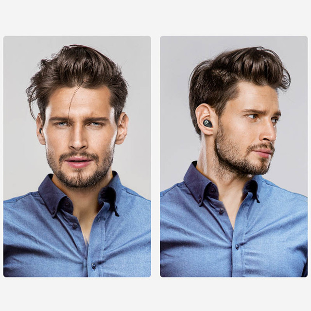 Mini Bluetooth Earphone 10 Hrs Music Time Bluetooth Headset Wireless Earbud Hands-free For TV PC iPhone Samsung Android Phone
