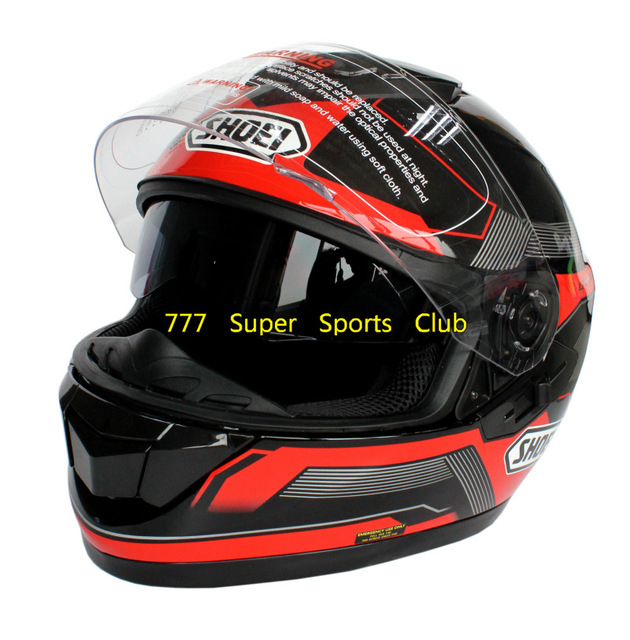 Dot Approved GT-Air Double Lens Motorcycle Full Face Helmet Capacete Motoqueiro Cascos Para Moto Shoei