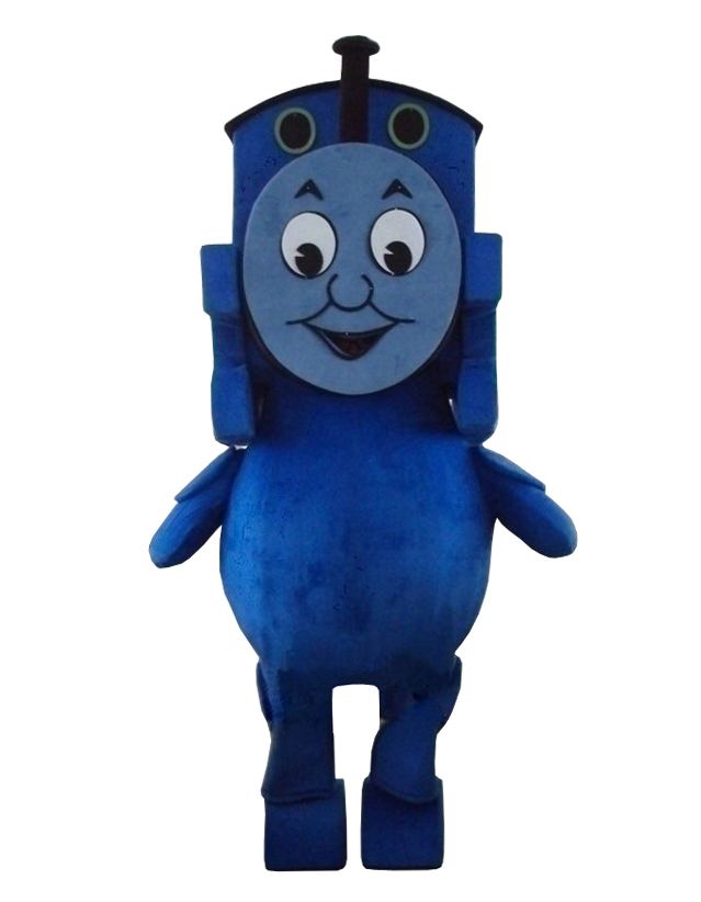 Thomas the Tank Engine Railway Train Plush Mascot Costume Adult Size Fancy Dress Suit Free Shipping