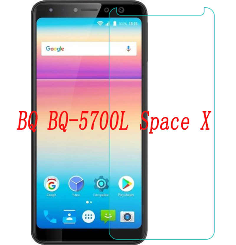 Smartphone Tempered Glass  for BQ BQ-5700L Space X 5700L 9H Explosion-proof Protective Film Screen Protector cover phone