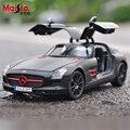 Maisto Mercedes-Benz SLS AMG 1:18 Масштаб Модели Автомобилей Сплава Игрушки Diecasts и Toy Транспорт Коллекция Для Детей Рождество подарки